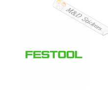 2x Festool Logo Vinyl Decal Sticker Different colors & size for Cars/Bikes/Windows
