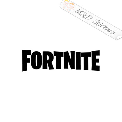 2x Fortnite logo Vinyl Decal Sticker Different colors & size for Cars/Bikes/Windows