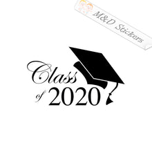 2x Class of 2020 Vinyl Decal Sticker Different colors & size for Car/Bikes/Windows