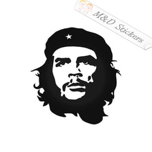 "2x Ernesto ""Che"" Guevara Vinyl Decal Sticker Different colors & size for Cars/Bikes/Windows"