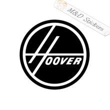 2x Hoover Logo Vinyl Decal Sticker Different colors & size for Cars/Bikes/Windows