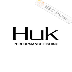 2x Huk fishing Logo Vinyl Decal Sticker Different colors & size for Cars/Bikes/Windows