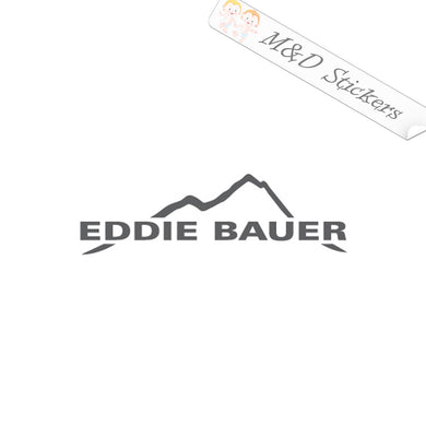 2x Eddie Bauer Logo Vinyl Decal Sticker Different colors & size for Cars/Bikes/Windows