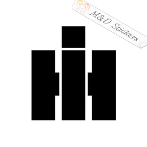 2x International Harvester Logo Vinyl Decal Sticker Different colors & size for Cars/Bikes/Windows