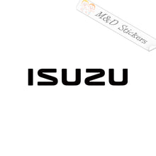 2x Isuzu Logo Vinyl Decal Sticker Different colors & size for Cars/Bikes/Windows