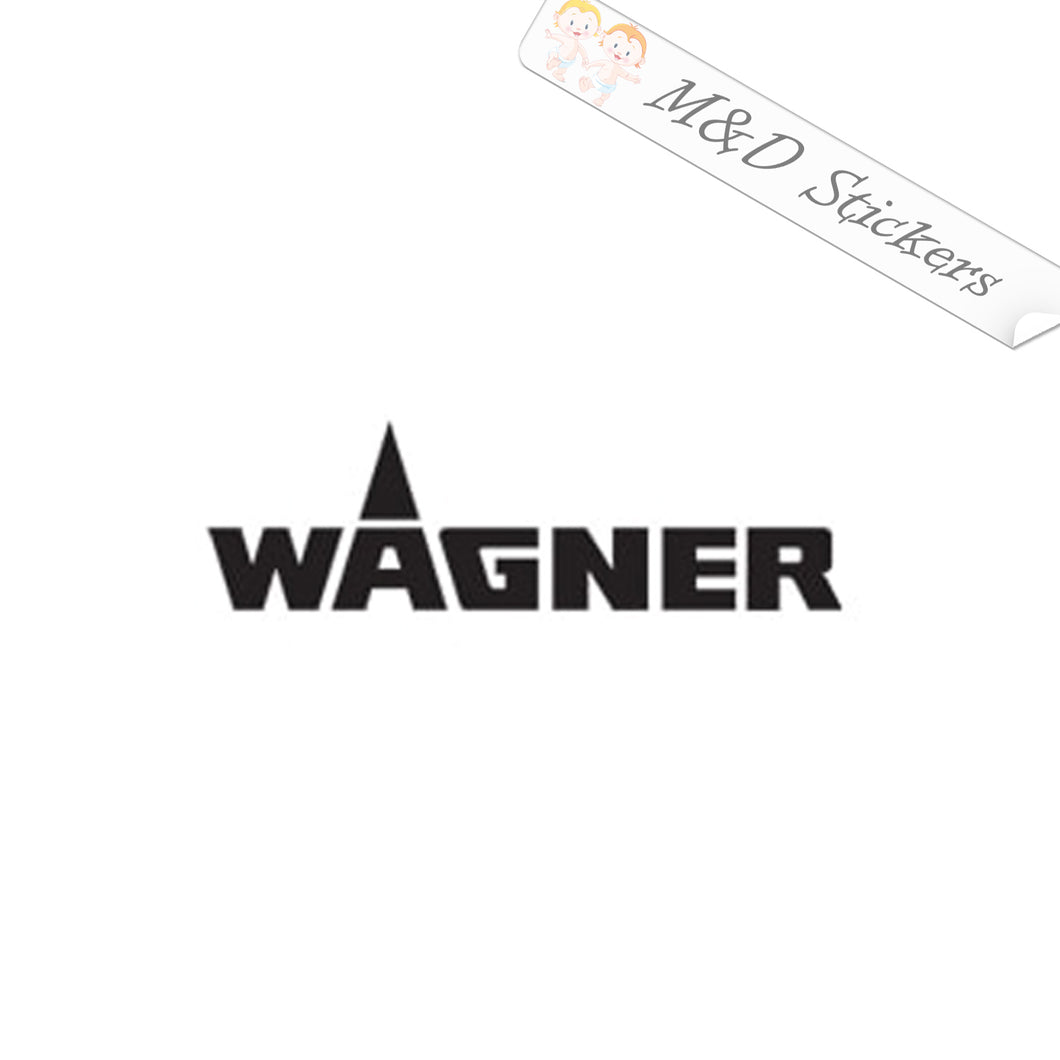 2x Wagner Tools Logo Vinyl Decal Sticker Different colors & size for Cars/Bikes/Windows