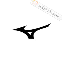 2x Mizuno Logo Vinyl Decal Sticker Different colors & size for Cars/Bikes/Windows