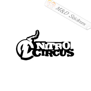 2x Nitro Circus Vinyl Decal Sticker Different colors & size for Cars/Bikes/Windows