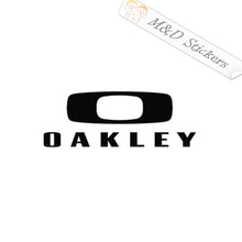 2x Oakley Logo Vinyl Decal Sticker Different colors & size for Cars/Bikes/Windows