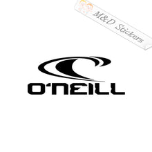 2x ONeill O'Neill Logo Vinyl Decal Sticker Different colors & size for Cars/Bikes/Windows