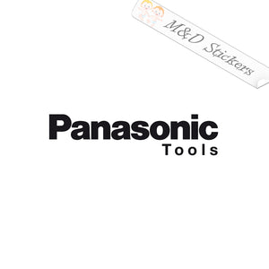 2x Panasonic tools logo Vinyl Decal Sticker Different colors & size for Cars/Bikes/Windows
