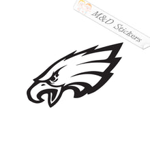 2x Philadelphia Eagles Vinyl Decal Sticker Different colors & size for Cars/Bikes/Windows