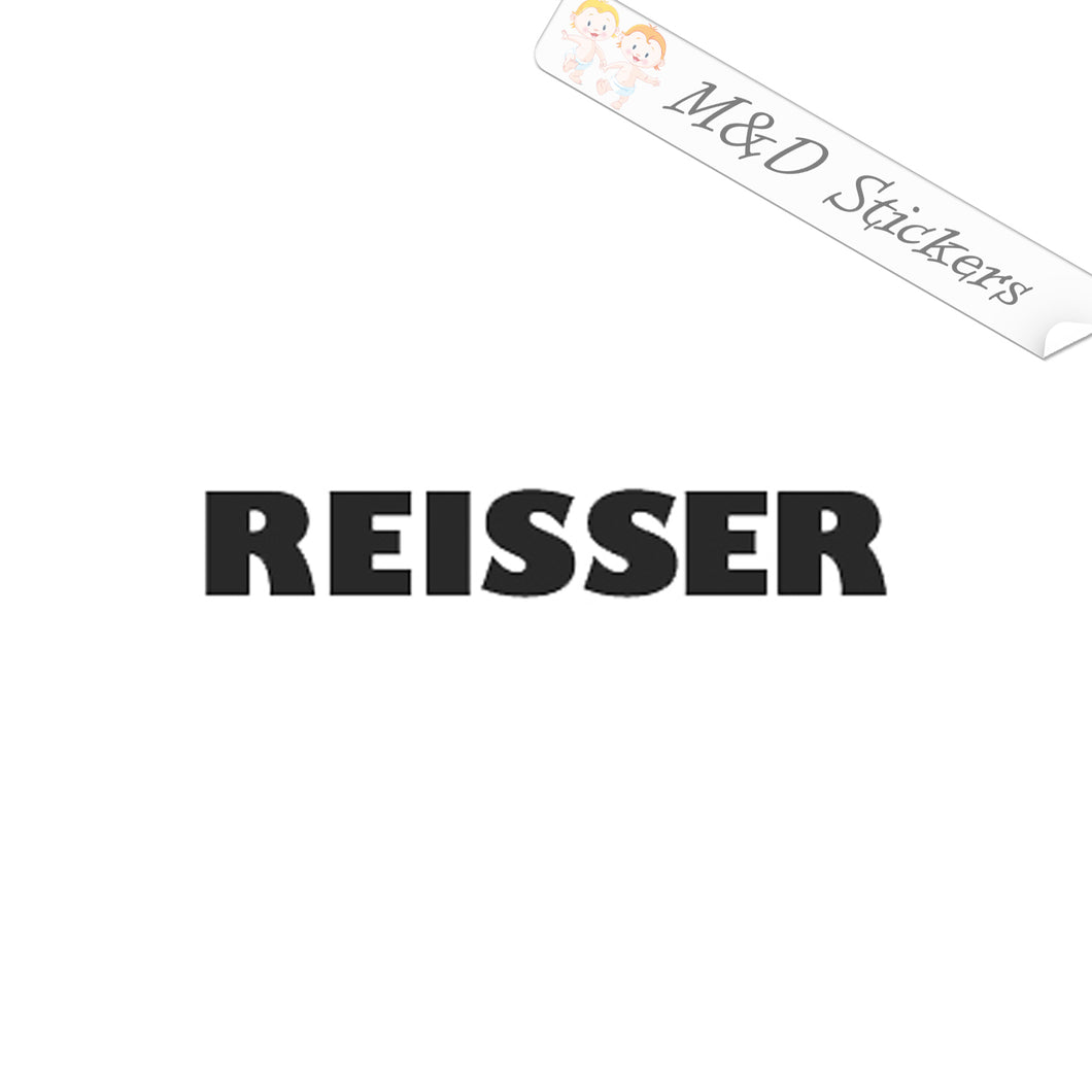 2x Reisser tools logo Vinyl Decal Sticker Different colors & size for Cars/Bikes/Windows