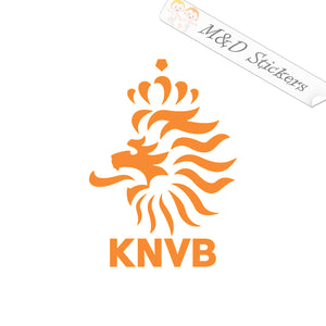 2x Holland Netherlands Dutch Lion Soccer Vinyl Decal Sticker Different colors & size for Cars/Bikes/Windows