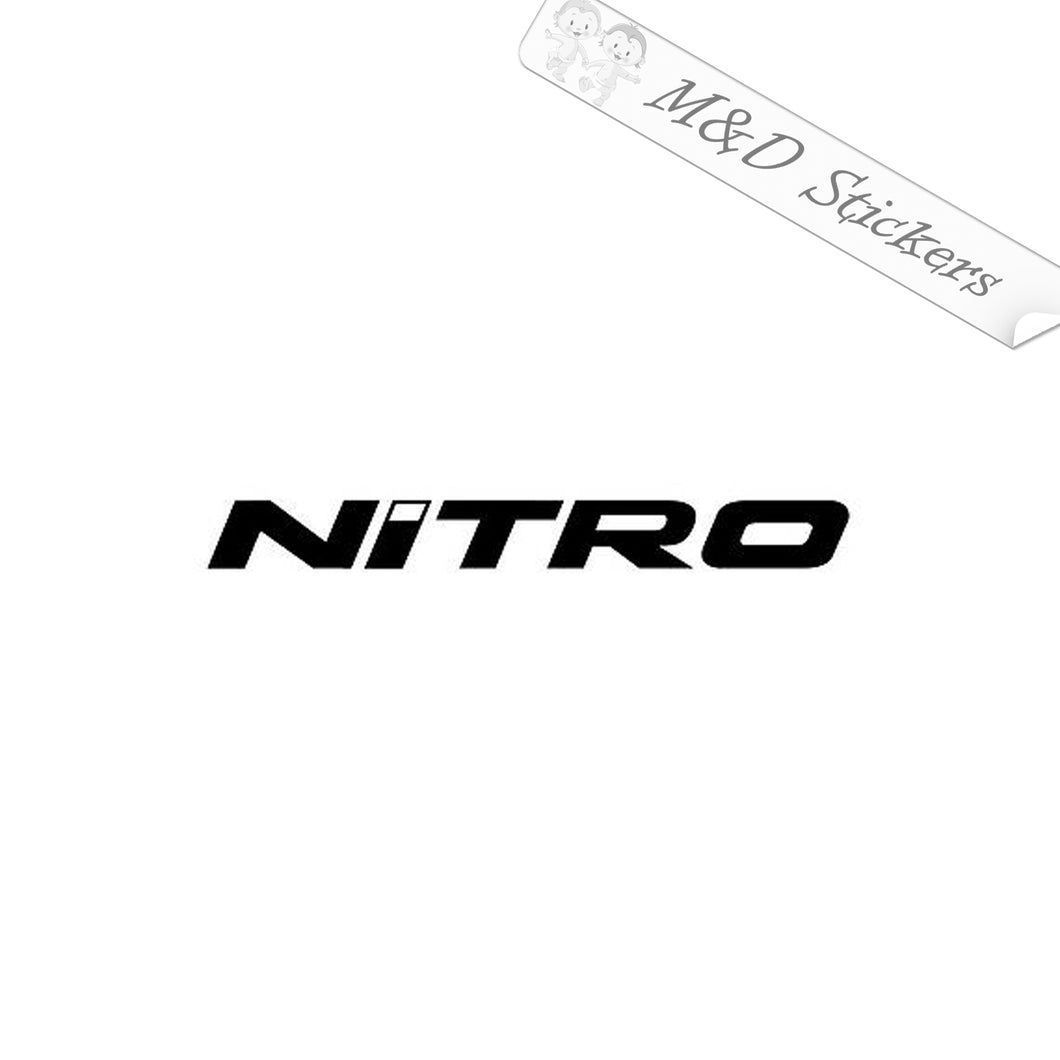 2x Nitro Performance Fishing Boats Logo Vinyl Decal Sticker Different colors & size for Cars/Bikes/Windows