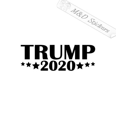 2x Trump 2020 Election Vinyl Decal Sticker Different colors & size for Cars/Bikes/Windows