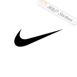 2x Nike Swoosh Logo Vinyl Decal Sticker Different colors & size for Cars/Bikes/Windows