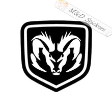 2x Dodge Logo Vinyl Decal Sticker Different colors & size for Cars/Bikes/Windows