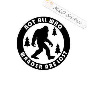 2x Yeti Vinyl Decal Sticker Different colors & size for Cars/Bikes/Windows