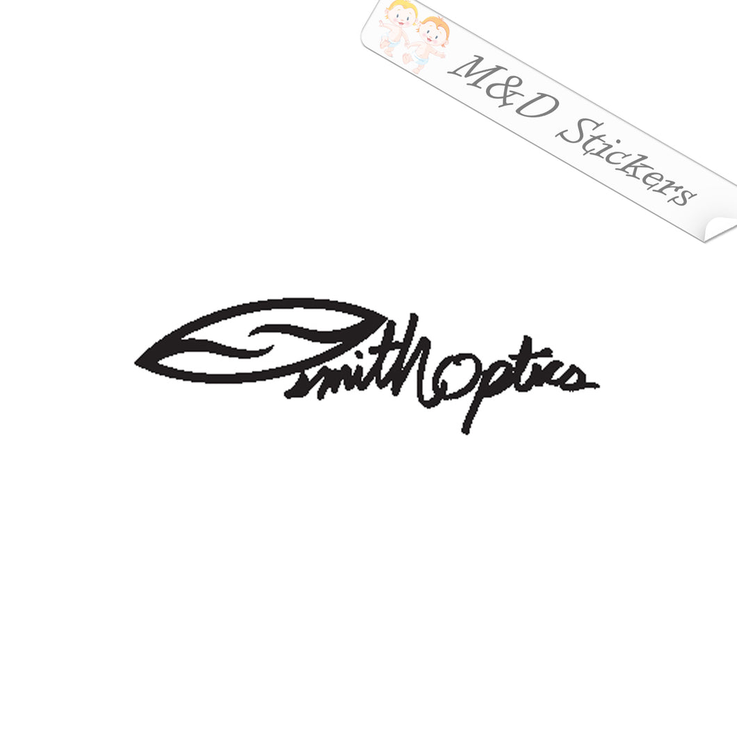 2x Smith Optics Sunglasses Logo Vinyl Decal Sticker Different colors & size for Cars/Bikes/Windows