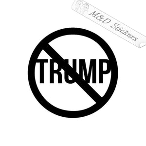 2x No Trump 2020 Election Vinyl Decal Sticker Different colors & size for Cars/Bikes/Windows
