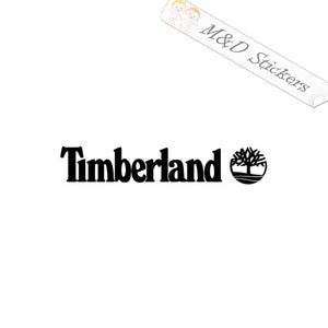 2x Timberland Logo Vinyl Decal Sticker Different colors & size for Cars/Bikes/Windows