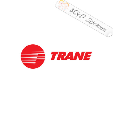 2x Trane Logo Vinyl Decal Sticker Different colors & size for Cars/Bikes/Windows