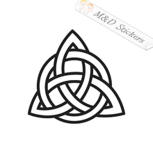 2x Celts Trinity knots Vinyl Decal Sticker Different colors & size for Cars/Bikes/Windows