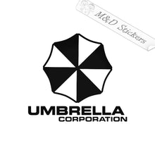 2x Umbrella Corp Vinyl Decal Sticker Different colors & size for Cars/Bikes/Windows