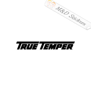 2x True Temper Tools Logo Vinyl Decal Sticker Different colors & size for Cars/Bikes/Windows