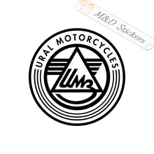 2x Ural Motorcycles Logo Vinyl Decal Sticker Different colors & size for Cars/Bikes/Windows
