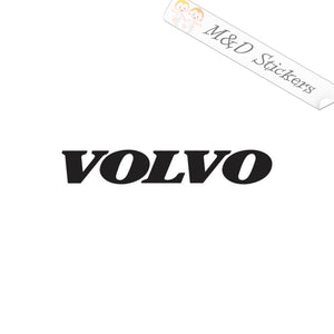 2x Volvo Logo Decal Sticker Different colors & size for Cars/Bikes/Windows