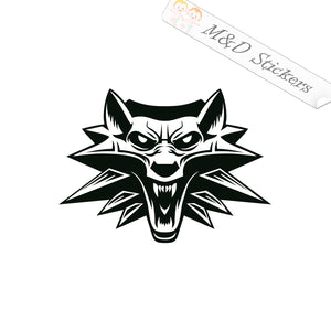 2x The Witcher Vinyl Decal Sticker Different colors & size for Cars/Bikes/Windows