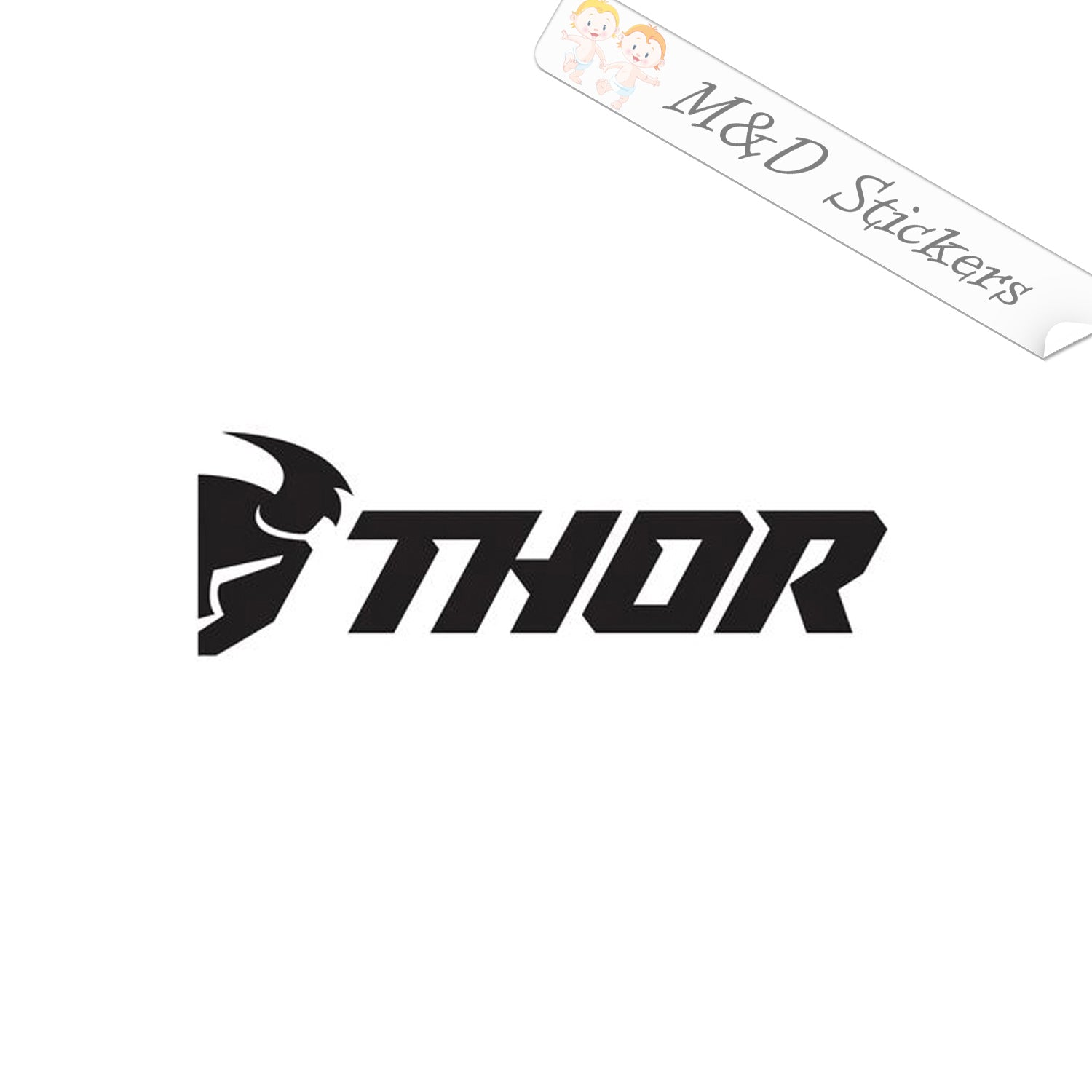 32x Thor Logo Vinyl Decal Sticker Different colors & size for  Cars/Bikes/Windows