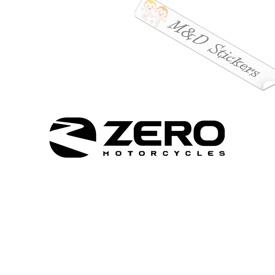 2x Zero Logo Vinyl Decal Sticker Different colors & size for Cars/Bikes/Windows