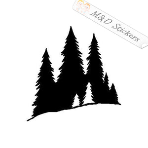 2x Forest Vinyl Decal Sticker Different colors & size for Cars/Bikes/Windows