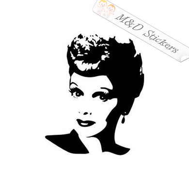 2x Audrey Hepburn Vinyl Decal Sticker Different colors & size for Cars/Bikes/Windows