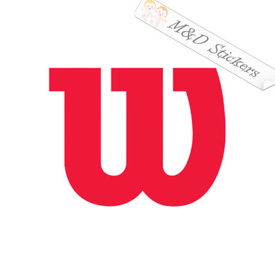 2x Wilson Golf Logo Vinyl Decal Sticker Different colors & size for Cars/Bikes/Windows