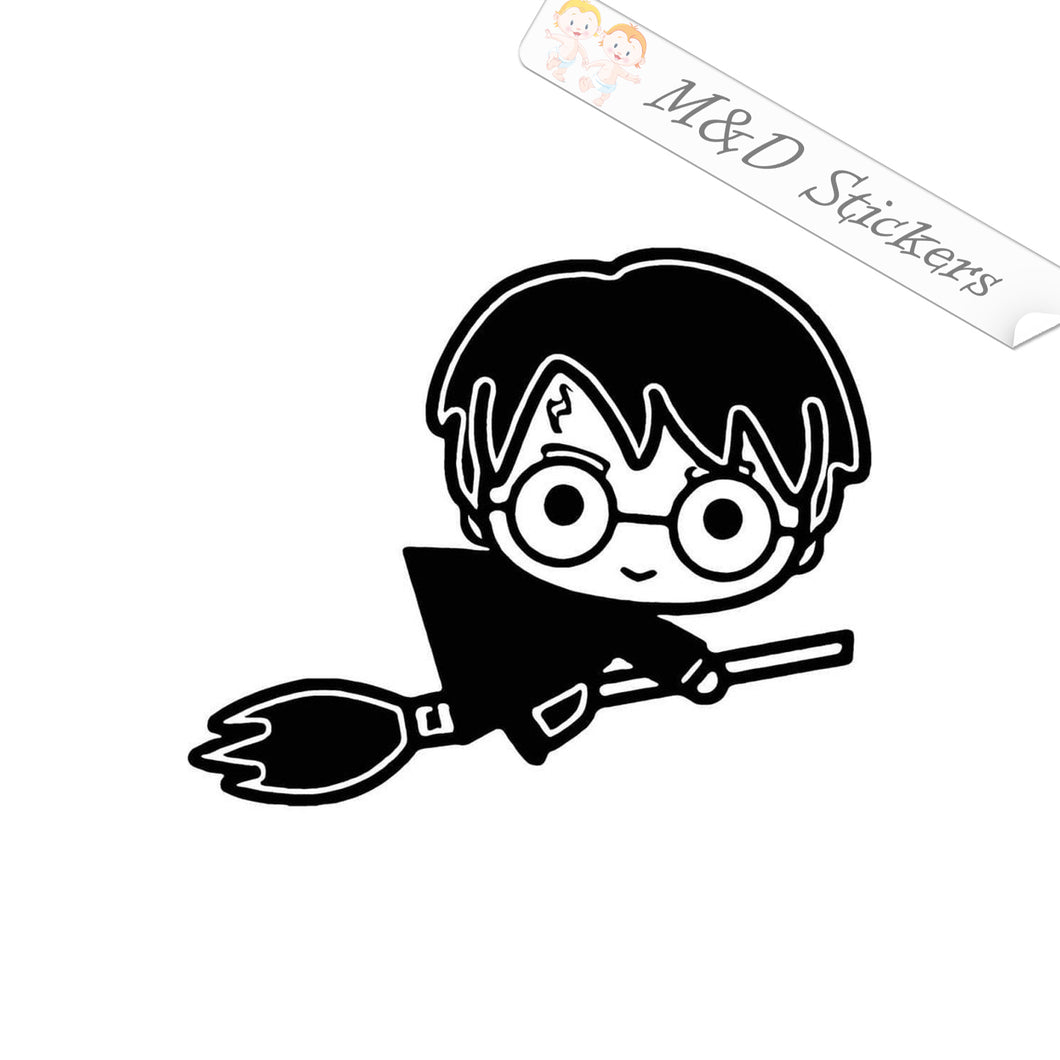2x Harry Potter Vinyl Decal Sticker Different colors & size for Cars/Bikes/Windows