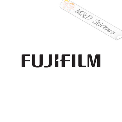 2x Fujifilm Logo Vinyl Decal Sticker Different colors & size for Cars/Bikes/Windows