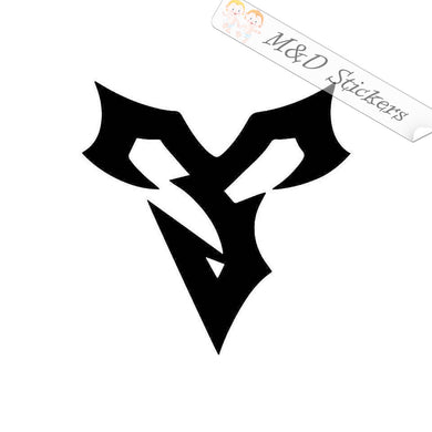 2x Final Fantasy X Tidus Logo Video Game Vinyl Decal Sticker Different colors & size for Cars/Bikes/Windows