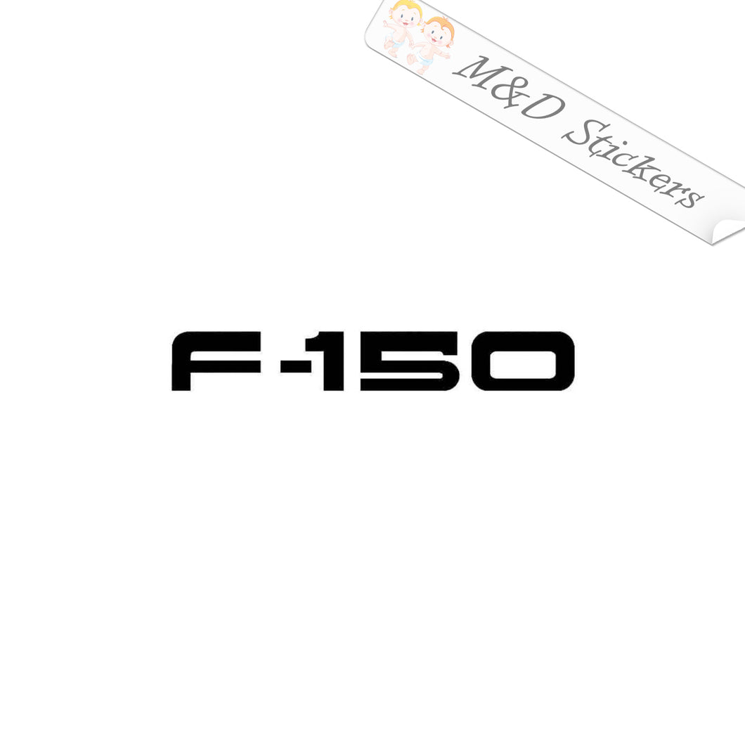 2x Ford F-150 Vinyl Decal Sticker Different colors & size for Cars/Bikes/Windows