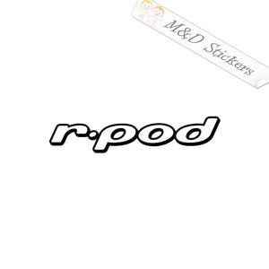 2x Forest River R-Pod RV Trailers Logo Vinyl Decal Sticker Different colors & size for Cars/Bikes/Windows