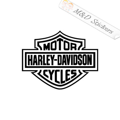 2x Harley-Davidson Logo extra online Vinyl Decal Sticker Different colors & size for Cars/Bikes/Windows