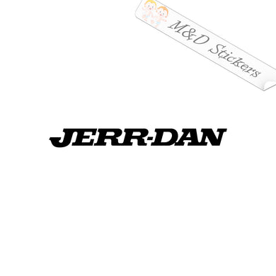 2x Jerr-Dan Logo Vinyl Decal Sticker Different colors & size for Cars/Bikes/Windows