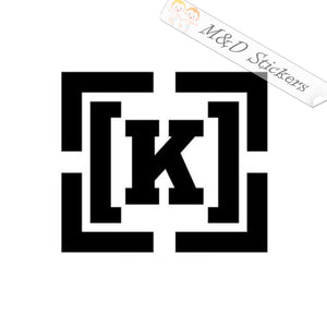 2x Kr3w skateboards Logo Vinyl Decal Sticker Different colors & size for Cars/Bikes/Windows
