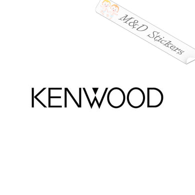 2x Kenwood Vinyl Decal Sticker Different colors & size for Cars/Bikes/Windows