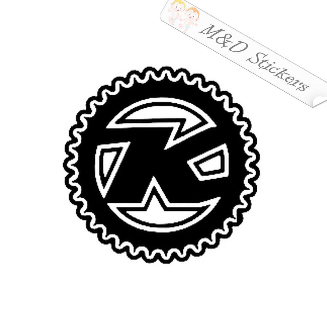 2x Kona Bicycles Logo Vinyl Decal Sticker Different colors & size for Cars/Bikes/Windows