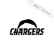 2x Los Angeles LA Chargers Vinyl Decal Sticker Different colors & size for Cars/Bikes/Windows