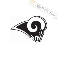2x Los Angeles LA Rams Vinyl Decal Sticker Different colors & size for Cars/Bikes/Windows